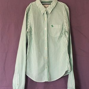 Abercrombie & Fitch Women's Button Up Shirt